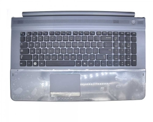 Samsung RC710 Palmrest with touchpad with US Layout Keyboard